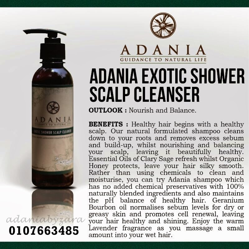 ADANIA Exotic Shower Scalp Cleanser